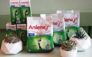 Anlene Vanilla and Classic with Collage