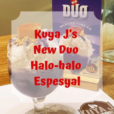 Kuya J New Duo Halo-halo Espesyal