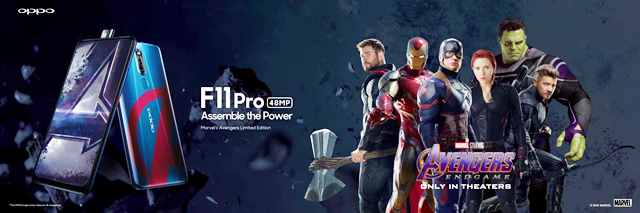 OPPO F11 Avengers Limited Edition