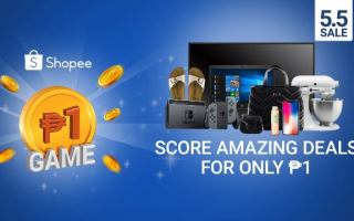 Shopee 5.5 Super Sale Piso-Game