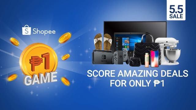 Shopee 5.5 Super Sale Piso-Game
