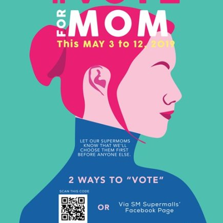 Vote For Mom at SM Supermalls