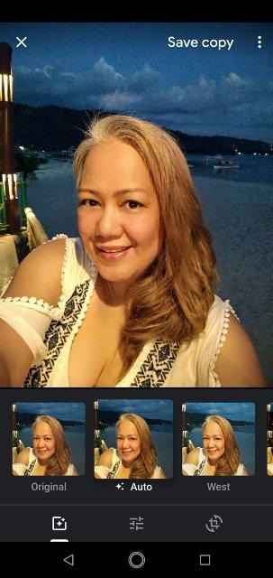 ASUS Zenfone Max Pro M2 Camera Auto Filter