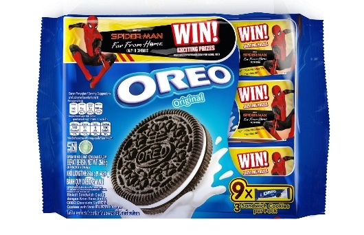 Oreo Spiderman Promo