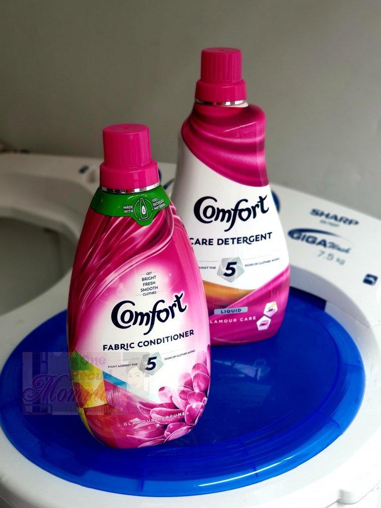 Comfort Care Detergent and Fabric Conditioner