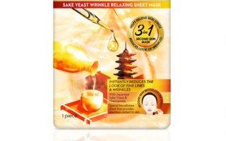 OLAY Skinfusion Sake Yeast Wrinkle Erase Sheet Mask
