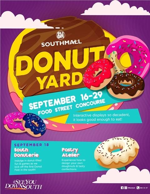 Donut Yard at SM Southmall