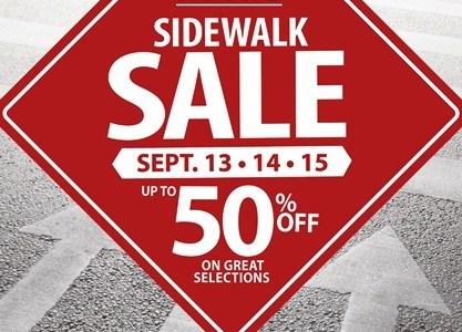 Metro Sidewalk Sale