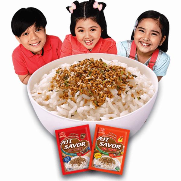 AJI SAVOR™ on Rice