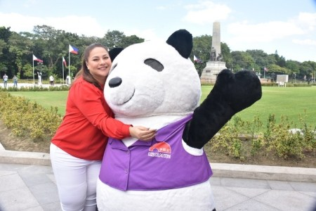 Lee Kum Kee Panda with Karla Estrada