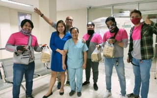 foodpanda delivers food to frontliners
