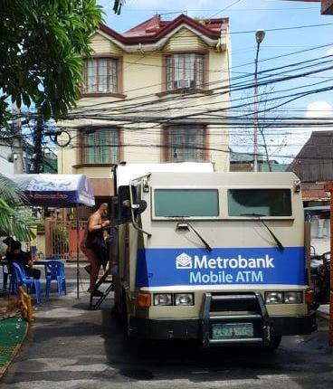Metrobank Mobile ATMs