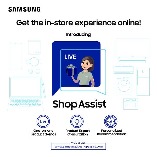 Samsung Live Shop Assist