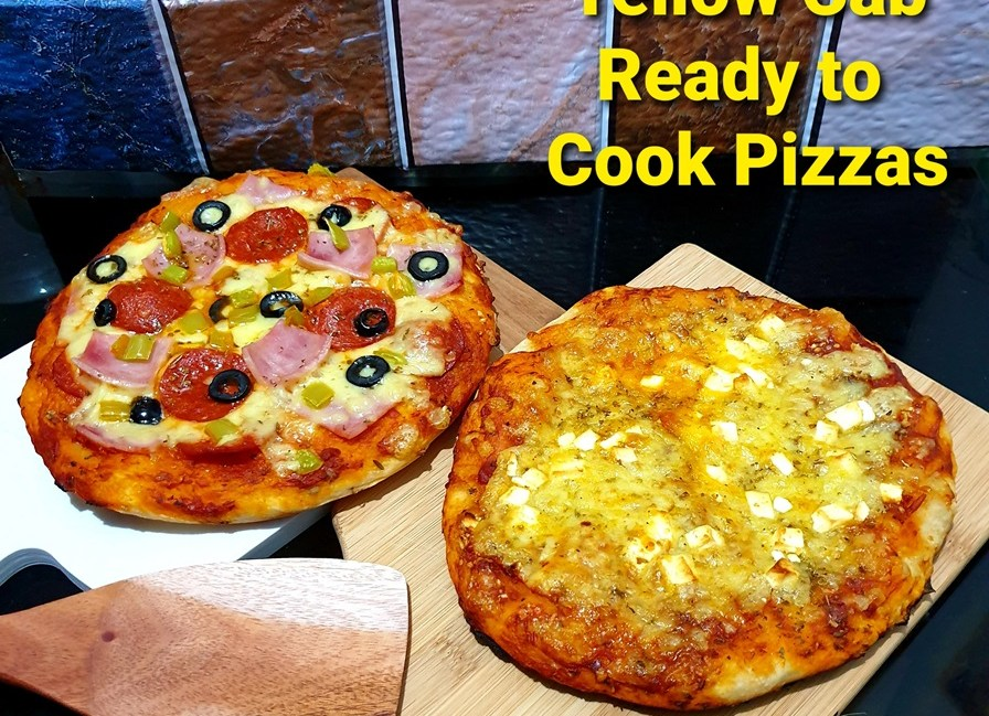Yellow Cab YOU DO YOUr Own Pizza Basic Kit