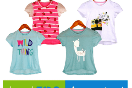 INSPI Kids Girls ASSORTED Top 1