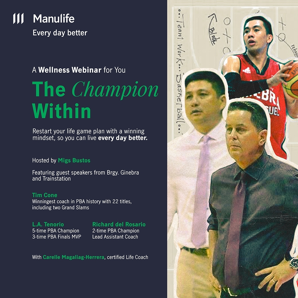 BRGY GINEBRA POSTER and Manulife Philippines