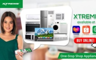 XTREME Appliances is available on Lazada, Shopee, and www.xtreme.com.ph