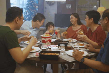 Jollibee Christmas Campaign