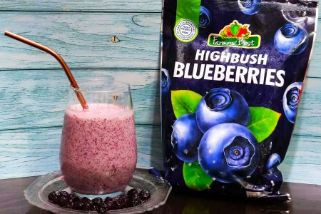 Farmers Best Highbush Blueberries Smoothie