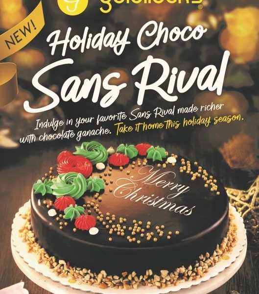 Goldilocks Chocolate Sans Rival Cake