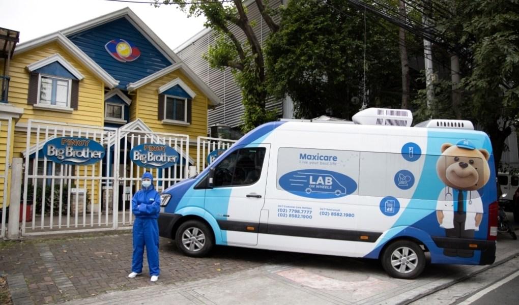 Maxicare PBB Housemates undergo COVID19 Testing with Maxicares LAB on Wheels