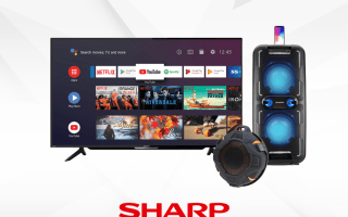 Sharp new TV and Audio Products