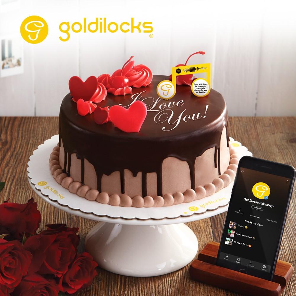 Goldilocks Valentine's Day Premium Cake