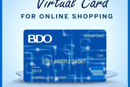 BDO American Express Virtual Card