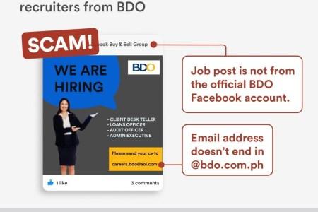 AntiScam Advisory Recruitment Scam