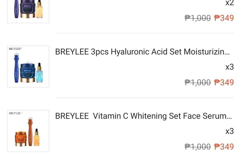 Breylee Skincare Shopee