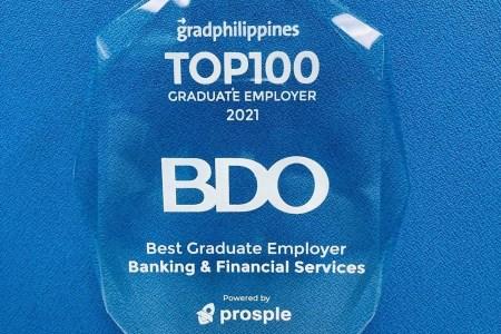 GradPhilippines names BDO as a top graduate employer