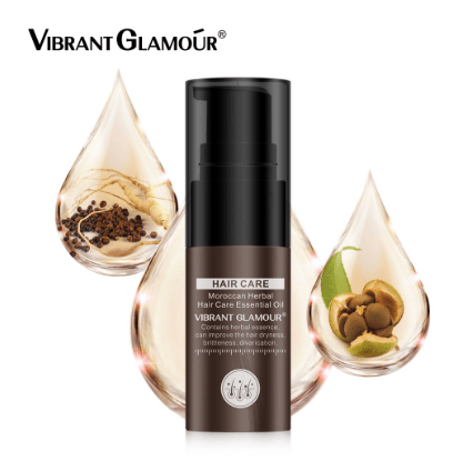 VIBRANT GLAMOUR Moroccan Argan Oil Hair Essential