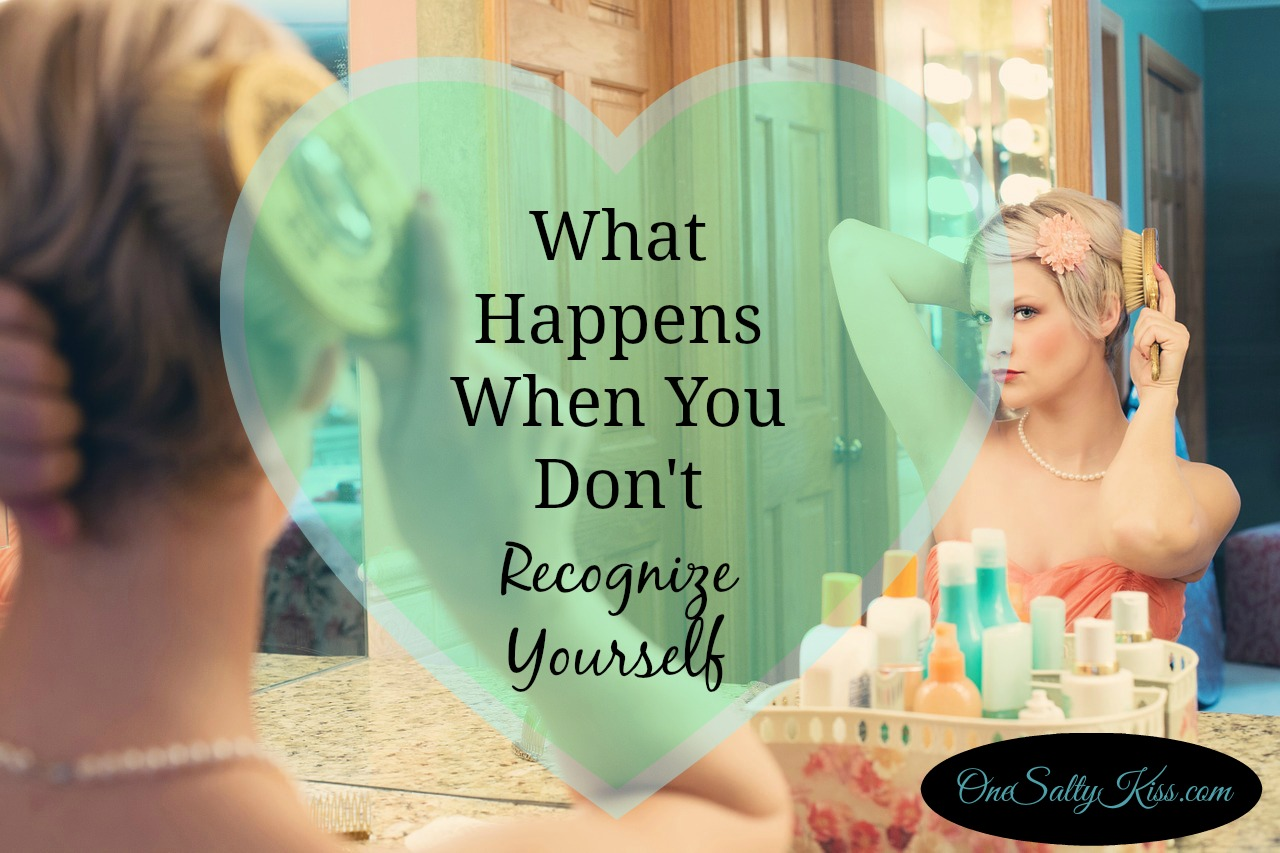 Sometimes in life, we look in the mirror and don't recognize who we see. Tips on how to start making time for ourselves and reminding ourselves who we are..