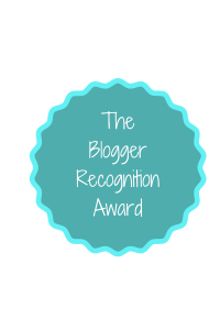 Blogger recognition award, one sharp mama