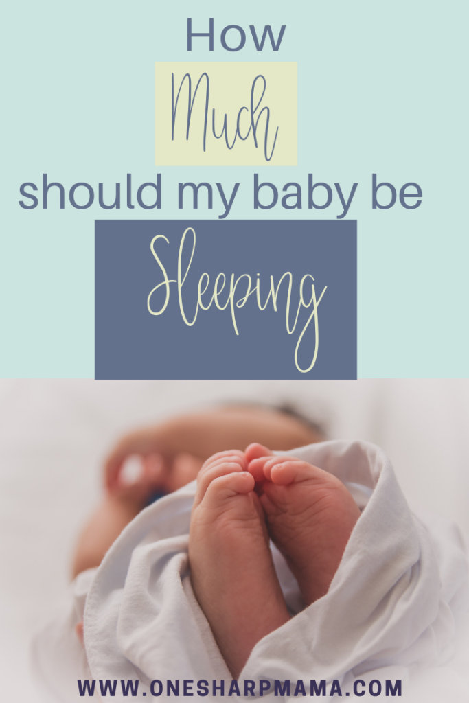 How much should my baby be sleeping? As a new mom, this is one of the questions you may ask yourself. Use these sleep schedule suggestions to help your little one adjust to newborn life. #parenting #momlife #sleep