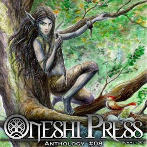 Onishi press Comics Anthology Eight - Cover Illustration by James groeling
