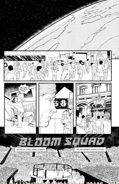 Bloom Squad comic book superpowers world earth james wayne johnson marcelo salaza comic book oneshi press justice anthology