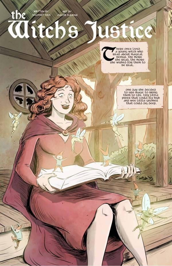 witch's justice nachiket naik jacob fleming magic faeries fae gnomes