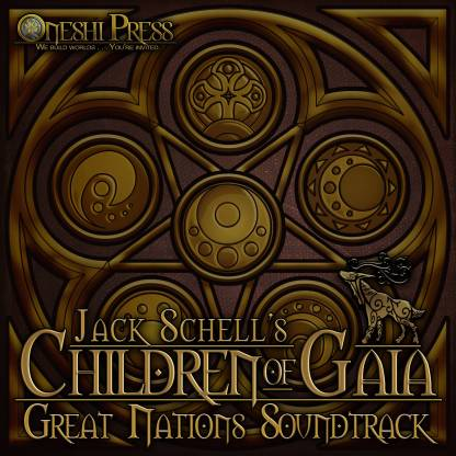 Jack Shell's Children of Gaia: Great Nations soundtrack from Oneshi Press