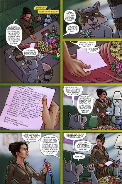 Tracy Queen Volume 2 page 5 - Free sample comicbook page