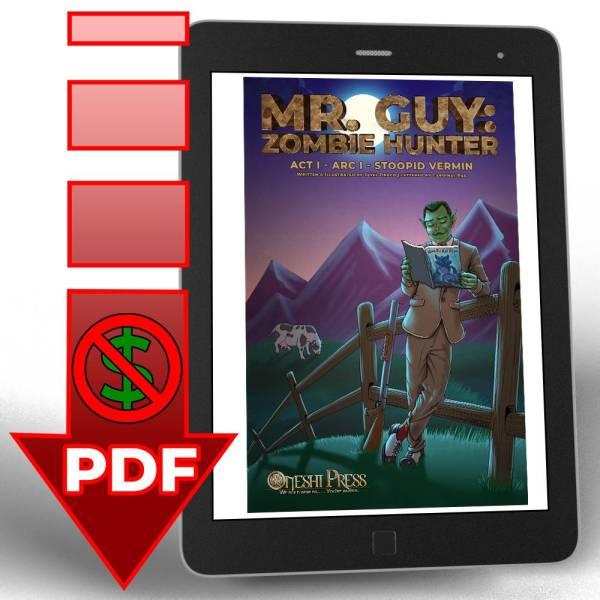 Mr. Guy: Zombie Hunter, Act 1, Arc 1, free sample pdf download