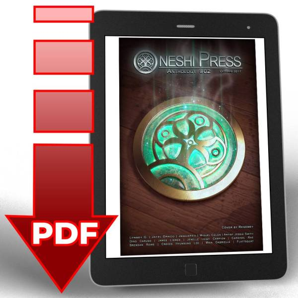 Oneshi Press Comics Anthology number two .pdf digital download file Cover