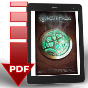 Oneshi Press Comics Anthology number two .pdf digital download file Cover