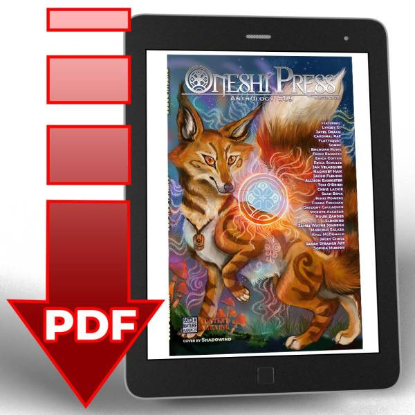 Oneshi Press Comics Anthology number nine, now available in digital .pdf file download