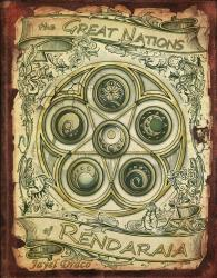 Children of Gaia - The Great nations of Rendaraia - Book Front Cover