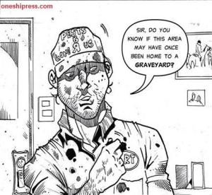 zee brothers zombie exterminators comic panel oneshi press anthology 07 grivante Samir Simão Brent Sterling