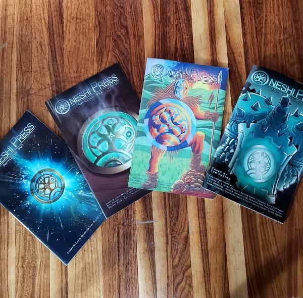 4 oneshi press anthologies