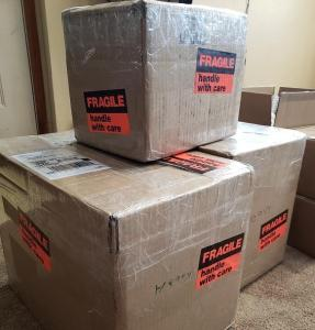 boxes tracy queen volume 1 shipment oneshi press behind the scenes