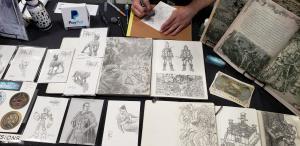 fantasy end oneshi press table lilac city comicon 2019