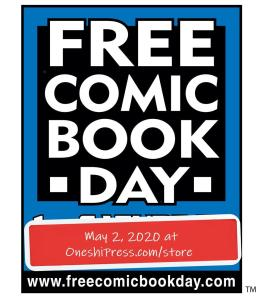 free comic book day at oneshi press